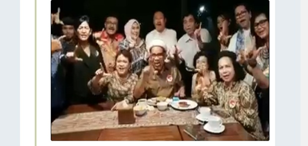 Heboh Video UI For Jokowi, Bawaslu Diminta Periksa Ngabalin Cs