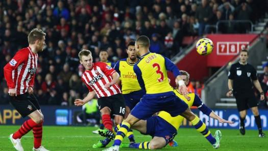 PREV LIGA PRIMER: Southampton Vs Arsenal