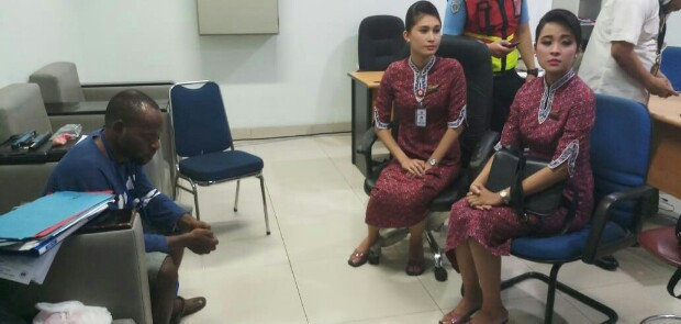 Mahasiswa Ngaku Bawa Bom, 11 Penumpang Lion Air Terluka