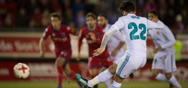 Tundukkan Numancia, Satu Kaki Real Madrid Jejak Perempat Final Copa del Rey