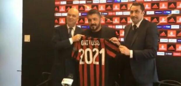Milan Perpanjang Kontrak Gattuso Hingga 2021