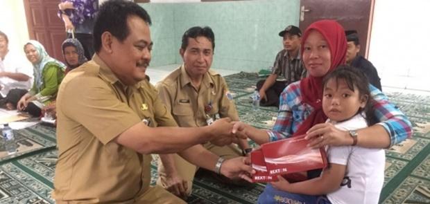 10 Anak Dapat Alat Bantu Dengar Dari Bazis Jakarta Timur