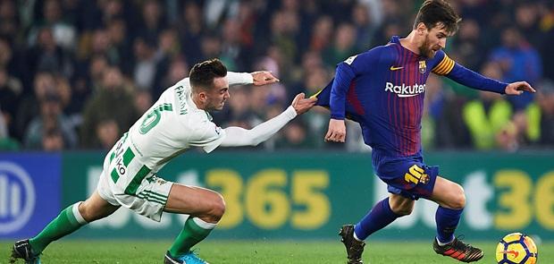 Barcelona Hancurkan Real Betis 5-0