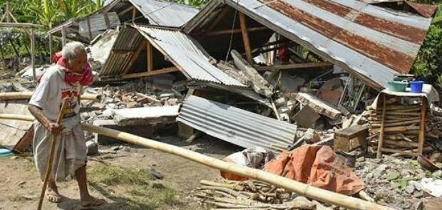 Saat Gempa Guncang Lombok, Warga Mataram Lihat Sambaran Cahaya Hijau dari Langit