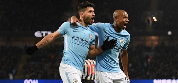 Hat-trick Aguero Bawa City Kembali ke Jalur Kemenangan