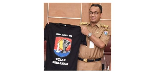 Tiga Alasan Alumni ITB Minta Anies Baswedan Bongkar Pulau Reklamasi