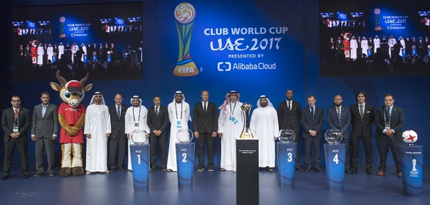 Ini Hasil Undian Piala Dunia Antarklub 2017