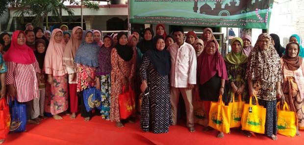 Humanika Jakut Bagikan 200 Paket Sembako Untuk Lansia dan Kaum Duafa