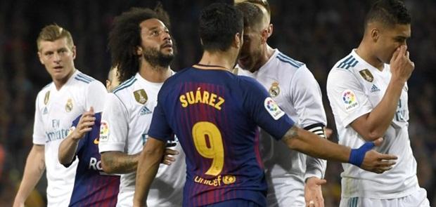 Madrid Berbagi Angka dengan 10 Pemain Barcelona