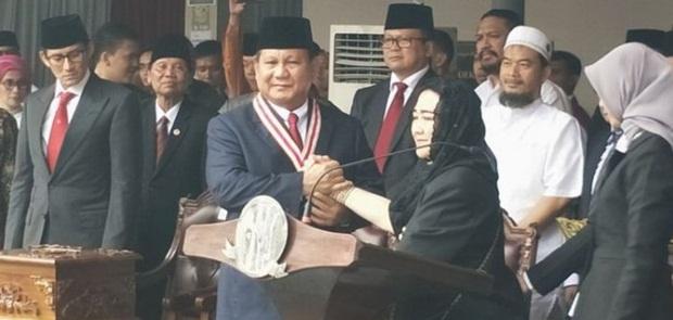 Prabowo Dianugerahi Penghargaan The Star of Soekarno