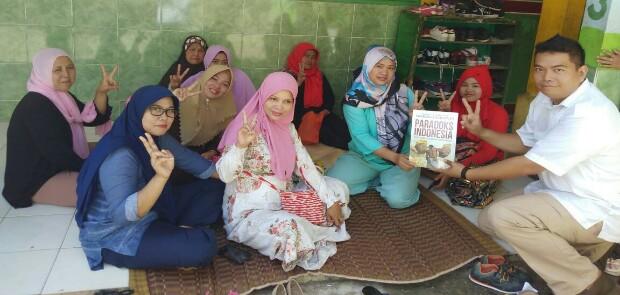 Jembatani Warga Tanah Sareal Kota Bogor, Caleg Gerindra Ini Bikin Forum