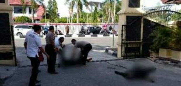 Giliran Mapolda Riau Diserang, Tapi Tanpa Ledakan Bom
