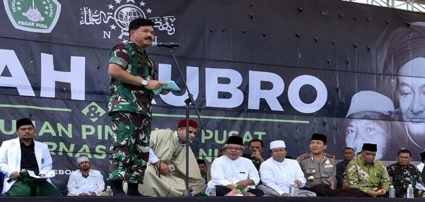 Panglima TNI: Santri Miliki Andil Besar Dalam Perjuangan Kemerdekaan RI