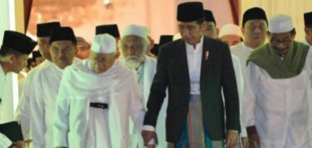 Deklarasi Sebagai Capres, Jokowi Pilih Ma'ruf Amin Sebagai Cawapres