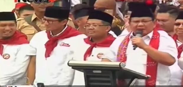 Prabowo Akan Kembali Jadi Jurkam Anies-Sandiaga 19 April Mendatang