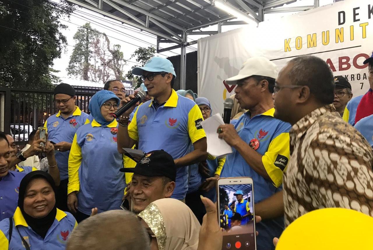 Komunitas Ikatan Alumni Universitas Indonesia (ILUNI) mendelarasikan dukungan Pasangan Prabowo-Sandi Uno pada Pilpres 2019