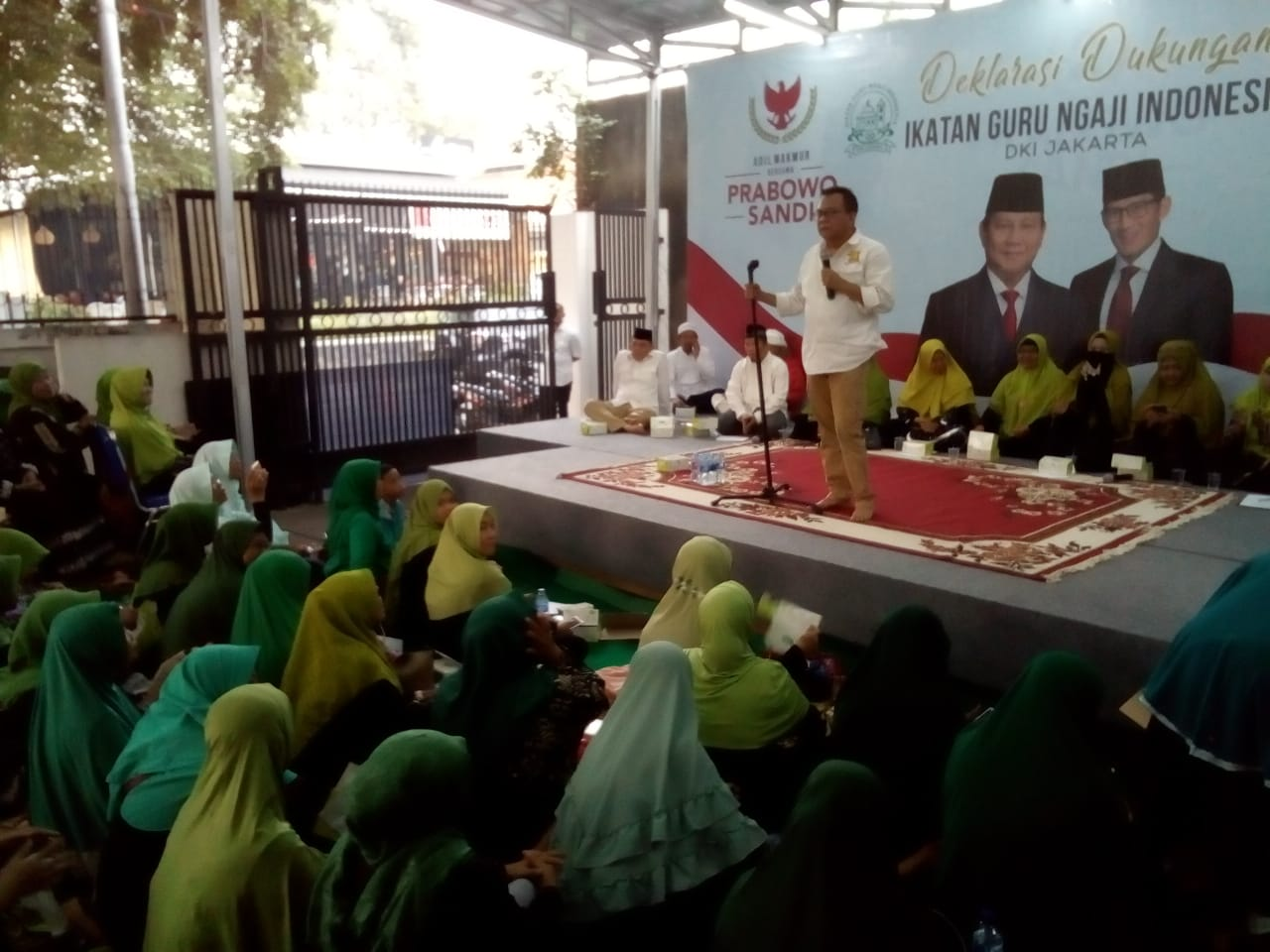 M Topik Ketua Badan Pemenangan DKI Jakarta Prabowo-Sandi
