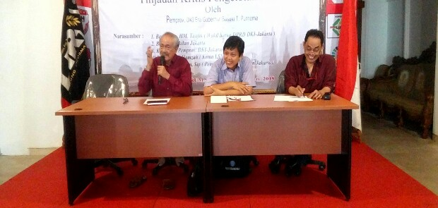 BPK Diminta Audit Investigasi Dana CSR yang Diperoleh Ahok dari Pengembang