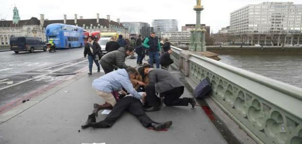 Tewaskan 4 Orang dan  Lukai 40 Orang, Pelaku Teror London Ditembak Mati