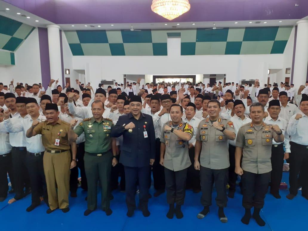 Calon Kades Di Kabupaten Tangerang, Gelar Deklarasi Siap Menang Dan Siap Kalah