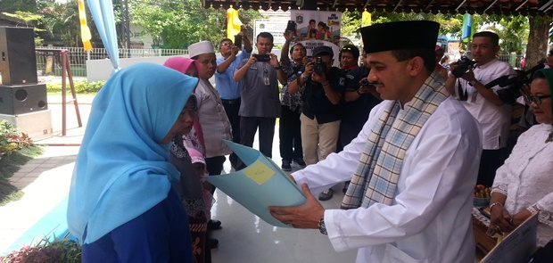 Peresmian Kampung KB Oleh Wakil Walikota Jaktim
