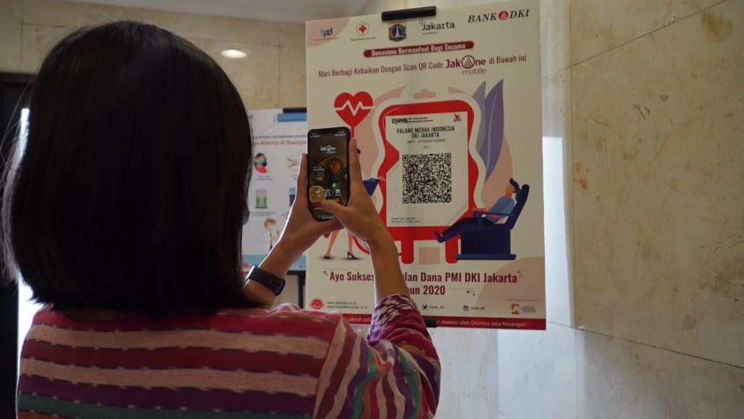 Bisa Secara Non Tunai, Bank DKI Mudahkan Pembayaran Donasi PMI DKI Jakarta