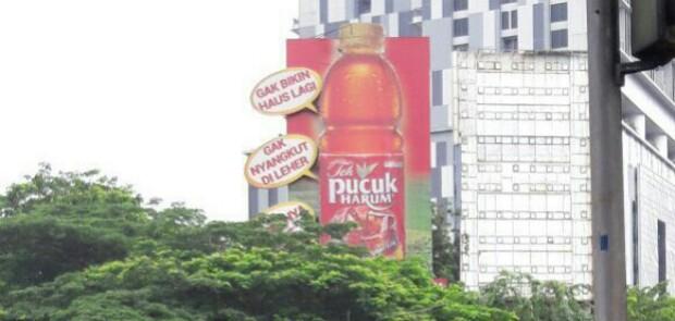 Soal Reklame Iklan Teh Pucuk, Satpol Panggil 4 SKPD