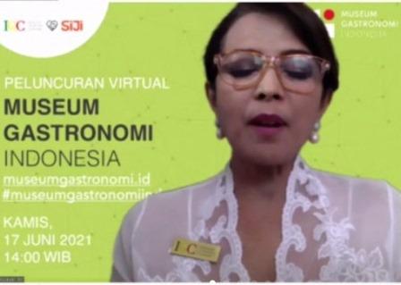 Museum Gastronomi Indonesia Format Digital Resmi Diluncurkan