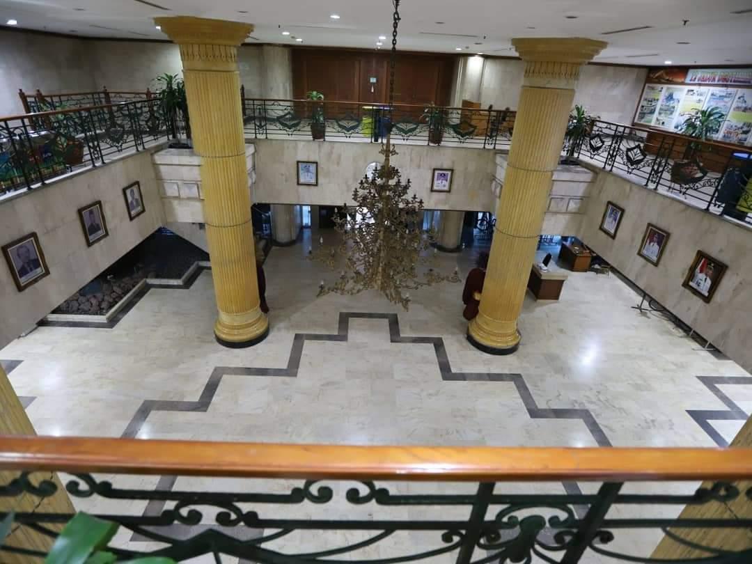 Pegawai Dibatasi 25 Persen, Kantor Walikota Jakarta Utara Tampak Sepi