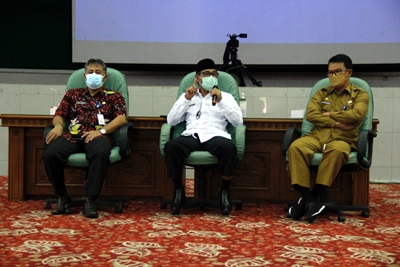KPK Ingatkan Area Rawan Korupsi, Bupati Temanggung Komitmen Bersih