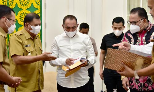 Pembukaan Jalur Alternatif Medan-Berastagi Tinggal 5 Km Gubernur Edy Rahmayadi akan Upayakan Perizinan
