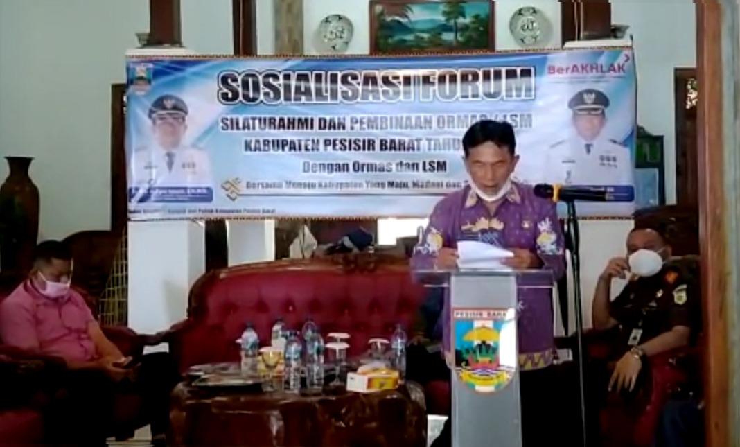 A.Zulqoini Syarif: Forum Silaturahmi Ormas dan LSM Untuk Menciptakan Sinergi