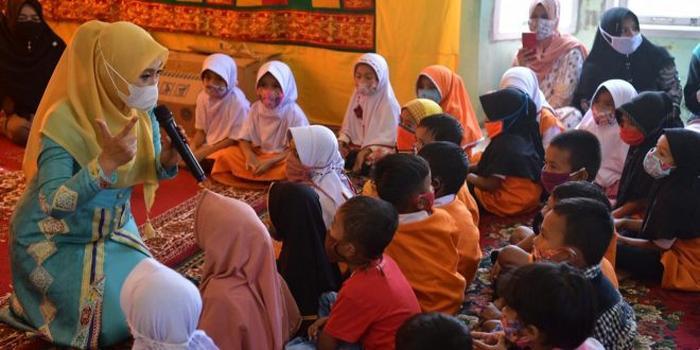 Dyah Sosialisasi Pencegahan Stunting bagi Pelajar PAUD di Pulo Aceh