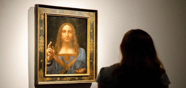 Lukisan Yesus Karya Da Vinci Seharga 6 Triliun Dibeli Pangeran Arab