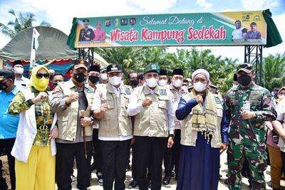 Edy Rahmayadi Resmikan Pembangunan Kampung Sedekah KSJ di Batubara