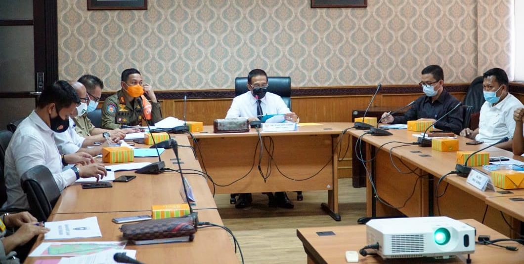 Plh Sekda Pimpin Rapat Tim Satgas Pengamanan dan Penertiban Milik Pemprov