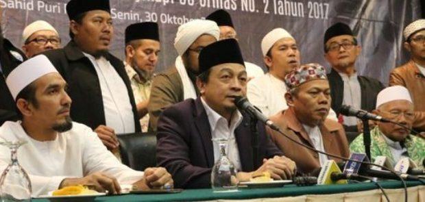 GNPF Ulama Serukan Umat Islam Lawan UU Ormas yang Baru