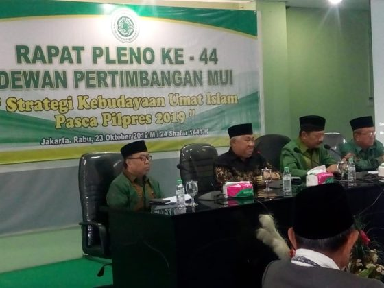 Tak Satupun Singgung Akhlak dan Moral, MUI Kritik Lima Program Kerja Jokowi