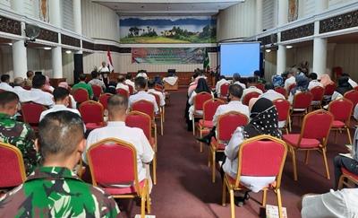 OPD Pemprov dan BUMD Gotong Royong Bantu TMMD ke-111 di Limapuluh Kota