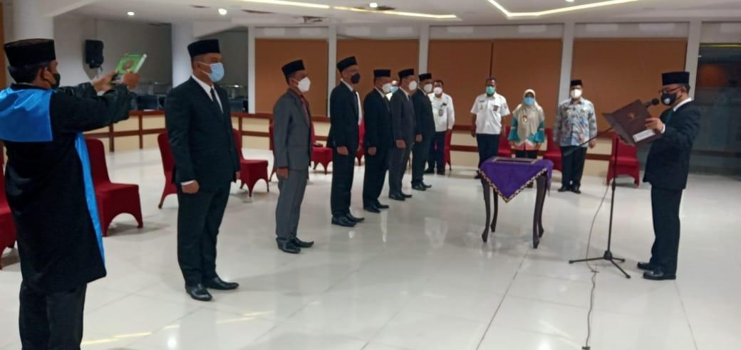 Raden Adipati Lantik 6 Pejabat Tinggi Pratama