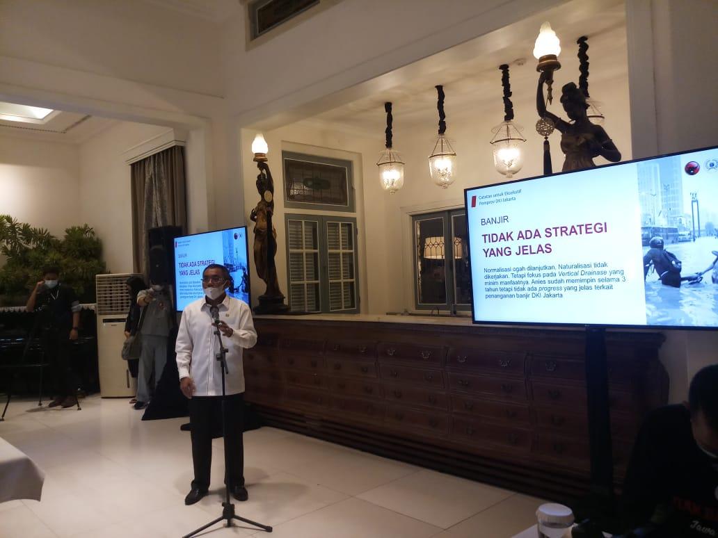 PDIP Soroti Lima Kegagalan Anies Baswedan