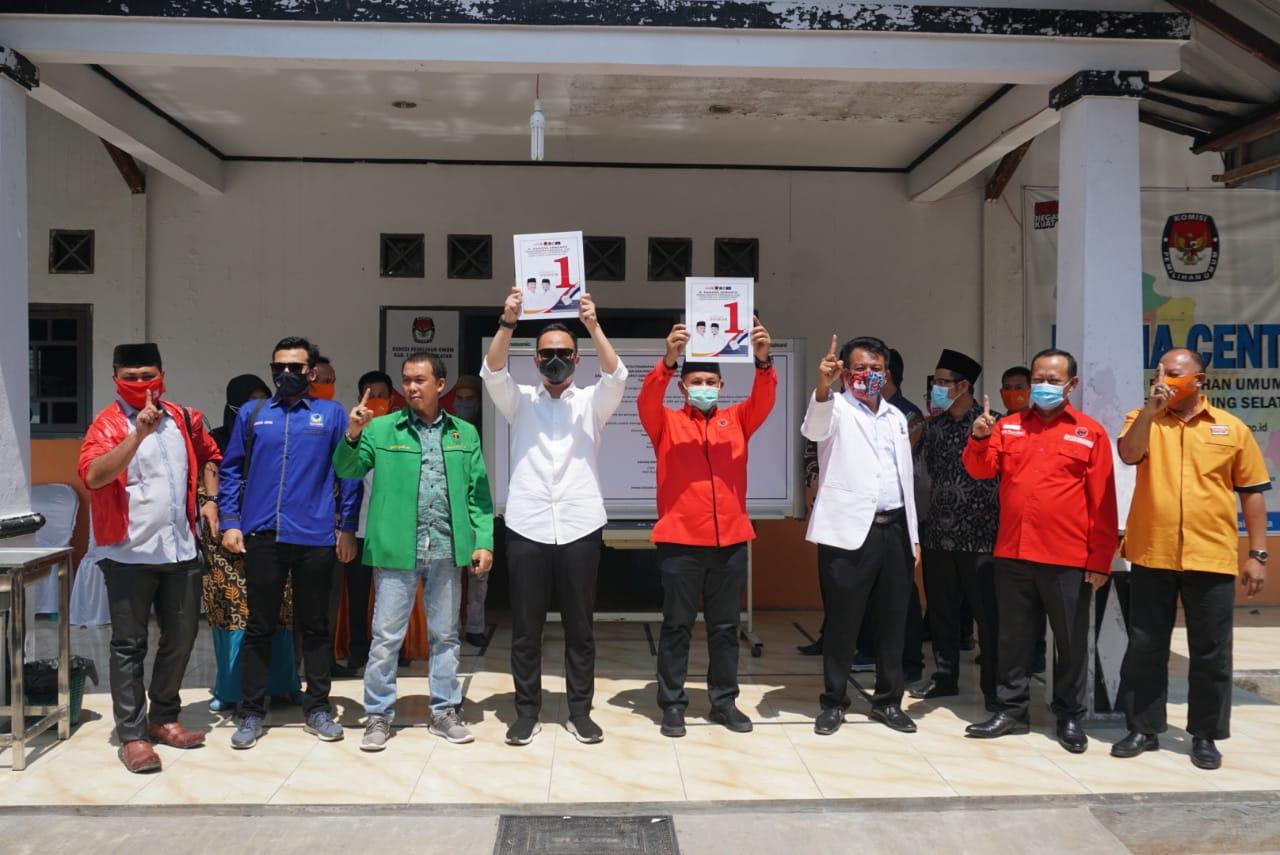 KPU Lampung Selatan Tetapkan Nomor Urut Pilkada, Petahana Dapat Nomor 1