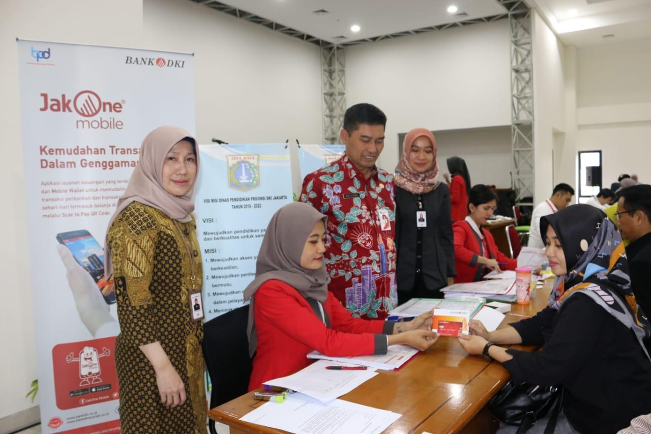 Buka 251 Rekening Komite Sekolah, Bank DKI Komitmen Dukung Program Disdik