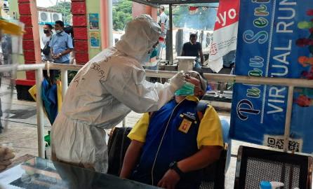 Penumpang Kapal Tujuan Kepulauan Seribu Dilakukan Rapid Test Antigen