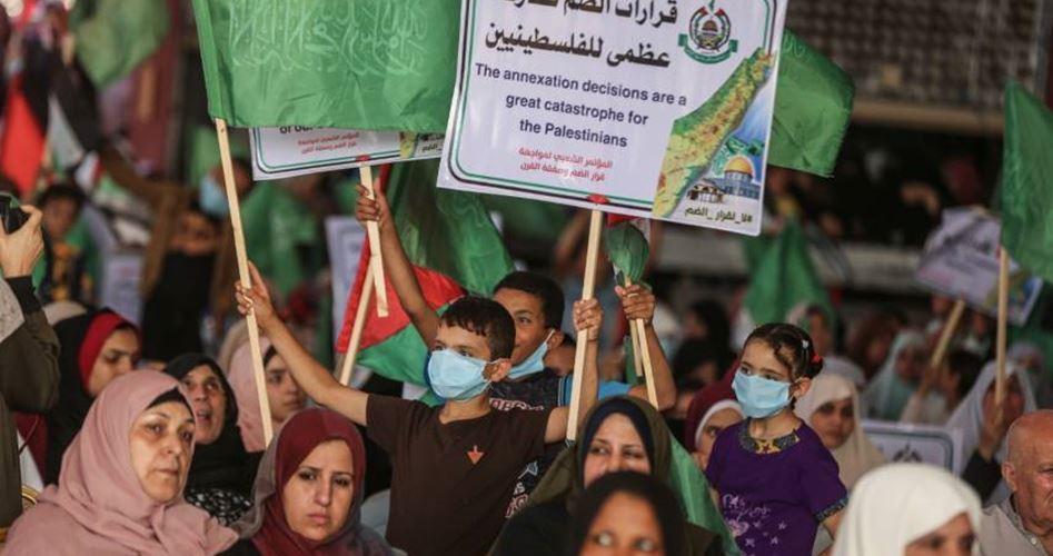 Gaza Serukan Perlawanan Besar-besaran Rencana Aneksasi Israel
