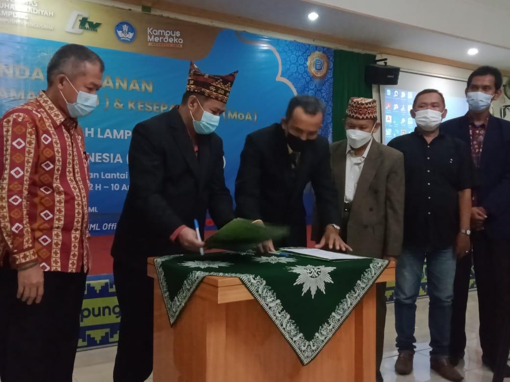 Universitas Muhamadiyah Lampung dan CTVS Digital Jalin Kerja Sama