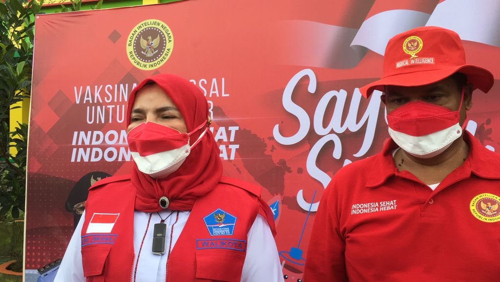 Pemkot Bandar Lampung dan BIN Laksanakan Vaksin di Kalangan Pelajar