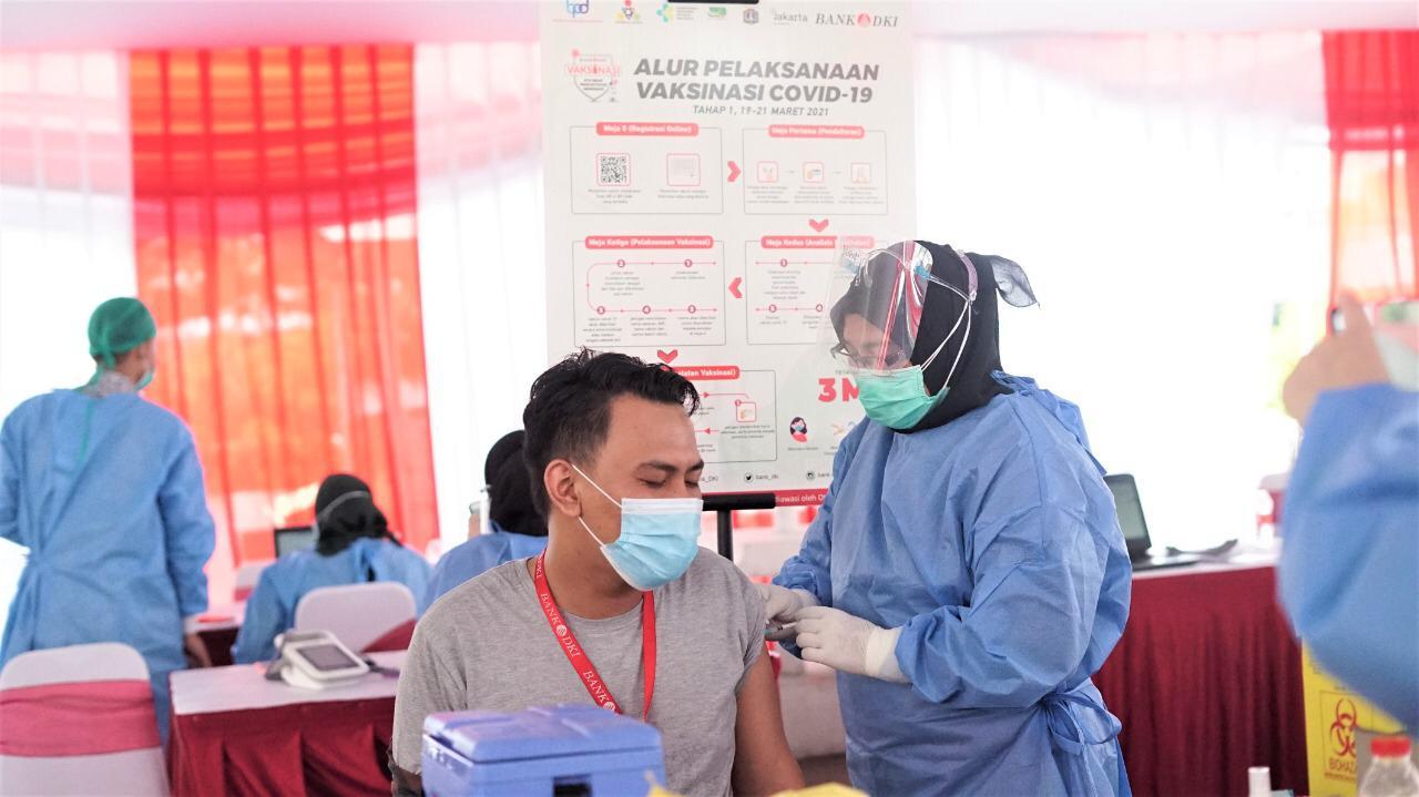 Gubernur Anies Apresiasi Langkah Bank DKI Gelar Vaksinasi Covid-19