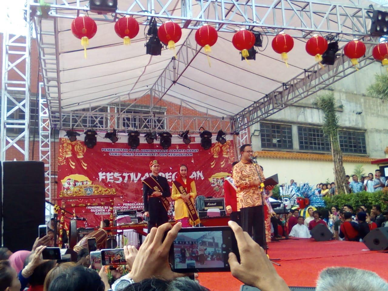 Anies Akan Jadikan Glodok Destinasi Wisata di DKI