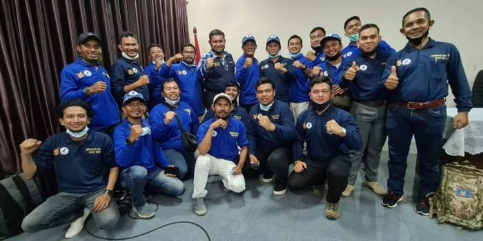 Pilot Drone Humpro Aceh Ikut Sertifikasi Penerbang Pesawat Nirawak